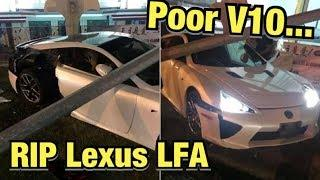 Moron Crashes $375k Lexus Supercar (Instagram Car Fails)