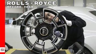 Rolls Royce Motor Cars Record Year