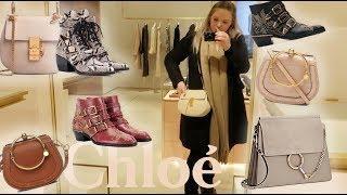Luxury Shopping Vlogmas Flagship Chloe Boutique???? Chloe Nile ☆Chloe Susanna Boots☆Chloe Drew + Mor
