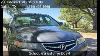 2007 Acura TSX w/Navi 4dr Sedan 5A w/Navigation for sale in