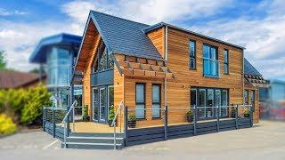 The Loft Luxury Two-Storey Holiday Lodge in the UK | Gorgeous Small House Design