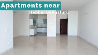 Luxury Apartment for Sale or Rent next to MTP near Hebbal, Apartments in North Bangalore