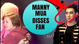MANNY MUA DISSES FAN