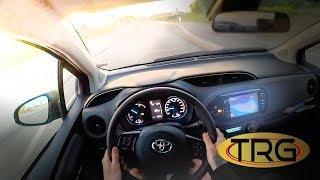 2018 TOYOTA YARIS HYBRID - POV test drive DAY time  | Hatchback