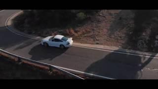 Porsche 996 a vista de dron