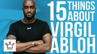 15 Things You Didn't Know About Virgil Abloh