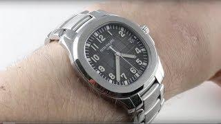Patek Philippe Aquanaut (FULL BRACELET) 5167/1A-001 Luxury Watch Review