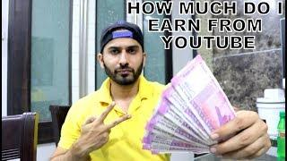 HOW MUCH DO I EARN FROM YOUTUBE AFTER 25000 SUBSCRIBERS
