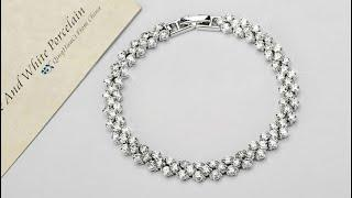 Stunning Bracelet || Everyday Jewelry || Wedding Jewelry || Fashion Jewelry ||Affordable Luxury