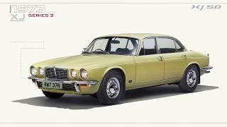 Jaguar XJ | 50 Years of Flagship Luxury