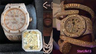Floyd Mayweather Luxury Jewelry & Watches Collection