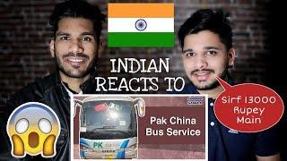Indian Reaction On Pakistan China Luxury Bus Service | CPEC Bus Service - M Bros Reaction