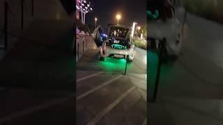 Luxury Cars In City Walk Dubai UAE on national day