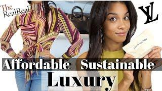 AFFORDABLE PRELOVED LUXURY | Spring Haul 2019 LV Reformation, The Real Real | KWSHOPS