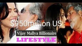 Net worth US$950million  VIJAY MALLYA LUXURY LIFESTYLE AND HOUSE/CAR/VILLA/