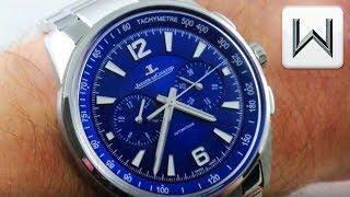 2018 Jaeger LeCoultre Polaris Chronograph Blue Dial Q9028180 Luxury Watch Review