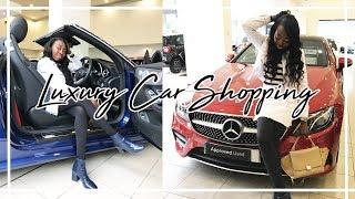 Luxury Car Shopping + Meeting Patricia Bright! | Duchess of Fashion