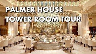 CHICAGO LUXURY HOTEL ROOM TOUR - Palmer House, a Hilton Hotel