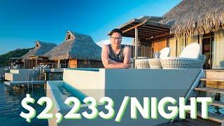 $2,233 A Night Bora Bora LUXURY Overwater Villa Tour
