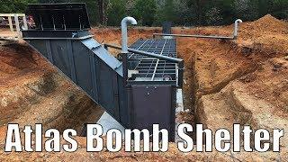Atlas 10x30 Safe-Cellar - Luxury Bunker Built Under A Home (Complete Installation Video)