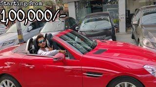 Luxury Cars for 1 Lakhs????| Mercedes, Audi, BMW | DELHI | Tushar 51NGH