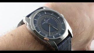 Vacheron Constantin Quai de L'ile (BLUE/STEEL) 4500S/000A-B364 Luxury Watch Review
