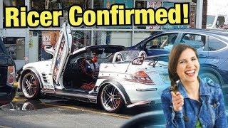 Moron Destroys Mercedes's Value With Ricer Mods... (Sh*tty Car Mods Reddit)