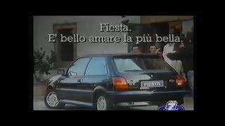 Ford Fiesta XR2 Spot 1990 Con Alessandro Nannini