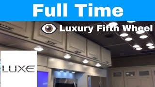 Luxe Gold 35GRS - Luxury fifth wheel with lots of storage