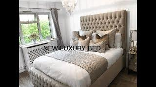 LUXURY NEW BED DELIVERY! | Bedroom Tour | Jade Vanriel