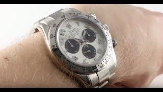 Rolex Daytona 116509 (WHITE GOLD) Luxury Watch Review