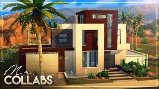 MR. COLLABS | EP.4 - XFreezerBunnyX's Modern Luxury Home | NO CC + TOUR | The Sims 4 Speed Build