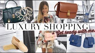 LUXURY SHOPPING IN CHANEL & CELINE + Get Ready With Me Innisfree Event!
