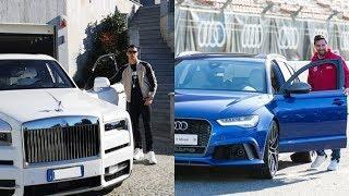 Cristiano Ronaldo vs lionel Messi Car Collection 2019