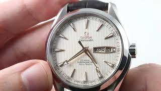 Omega Seamaster Aqua Terra Annual Calendar 231.13.43.22.02.002 Luxury Watch Review