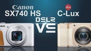 Canon PowerShot SX740 HS vs Leica C-Lux