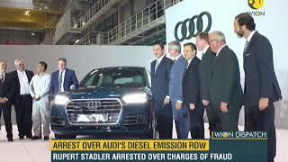 WION Dispatch: Luxury carmaker Audi Chief Executive Rupert Stadler arrested