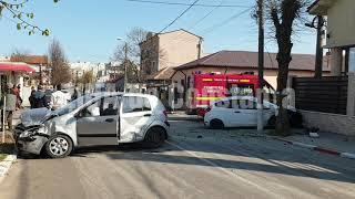 Accident rutier pe strada Steagului din municipiul Constanța. Două autoturisme implicate. O victimă