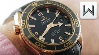 Omega Seamaster Professional Planet Ocean 600m (232.63.46.21.01.001) Luxury Watch Review