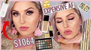 Full Face of MY MOST EXPENSIVE MAKEUP! ???????? Luxury & High End