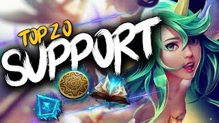 Top 20 SUPPORT Plays #18 | League of Legends