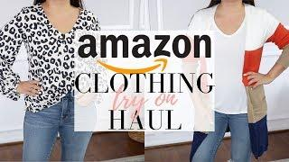 AMAZON CLOTHING HAUL - Amazon haul try on | LuxMommy