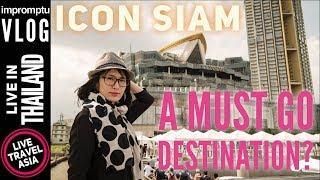 Icon Siam Bangkok's Luxury Mall, Ferry, Sooksiam Food, Takashimaya, Complete Walkthrough & Review