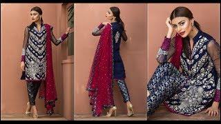LATEST LUXURY PRET DRESSES BY ZAINAB CHOTTANI