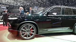VinFast Lux V8 -  Mẫu SUV Phiên Bản Đặc Biệt tại Geneva Motor Show 2019 Thụy Sỹ