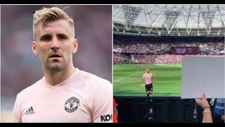 Luke Shaw created the luxury gestures for Manchester United fans after losing to West Ham