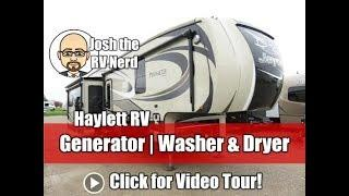 2016 Jayco 36FBTS Pinnacle Front Bath Generator Wide Body Used Luxury Fifth Wheel RV