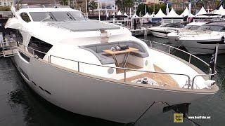 2019 Sunseeker 95 Luxury Yacht - Deck and Interior Walkaround - 2018 Cannes Yachting Festival