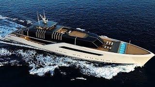 82-Metre Luxury Megayacht Concept Pentagramma (by Luca Vallebona)