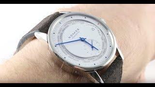 Nomos Glashutte Zurich Weltzeit (World Time) Topper Edition 805 Luxury Watch Review